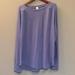 Tops - Softest blue shirt sz Large